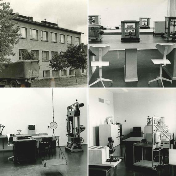 Metroserdi Aru tänava maja ja sealsed laborid 1970-ndatel aastatel